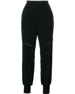 Lace-trimmed Libby Joggers