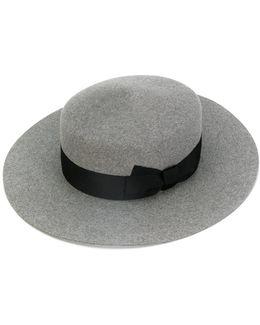 Round Ribbon Hat