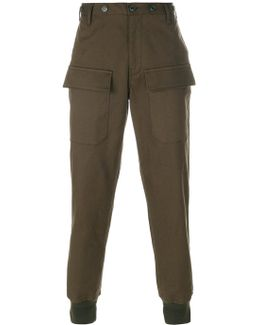 Tapered Casual Trousers