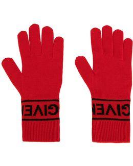 Logo Knit Gloves