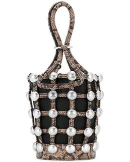 Roxy Cage Mini Bucket Bag