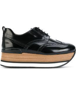 H222 Platform Sneakers