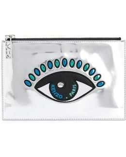 Eye Clutch Bag