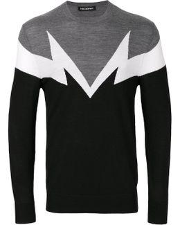 Lightning Patch Sweatshirt