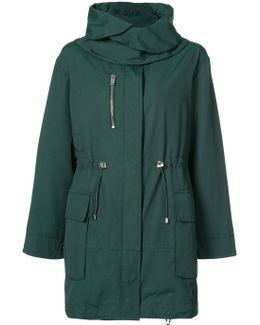 Concealed Fastening Parka Coat