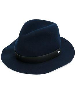 Strap Fedora Hat
