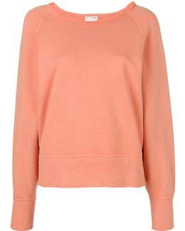 Raw Neck Sweatshirt