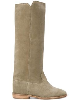 Cleave Concealed Wedge Boots