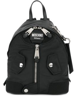 Small Zip Front Backpack