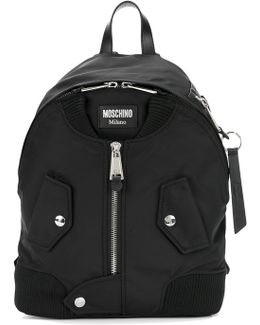 Large Zip Front Backpack