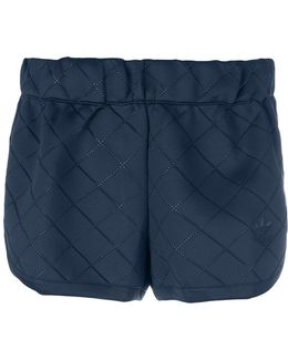 Diamond Quilted Shorts