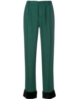 Draped Pyjama Trousers