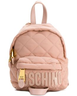 Mini Quilted Backpack