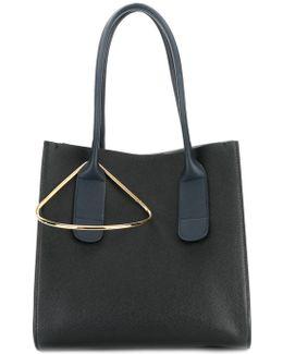 Metal Detail Tote Bag