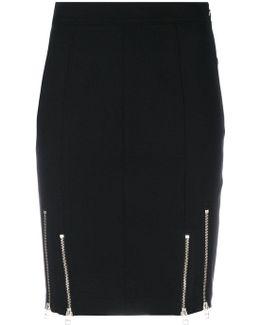Zip Detailed Skirt