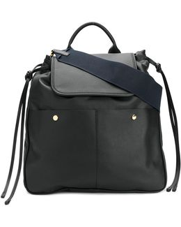 Oversized Dual Colour Backpack