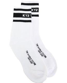 Short Stripe Socks