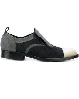 Contrast Lace Up Shoes