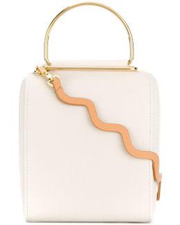 Metal Handle Crossbody Bag