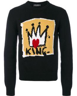 King Intarsia Sweater