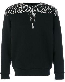 Feather Print Sweatshirt
