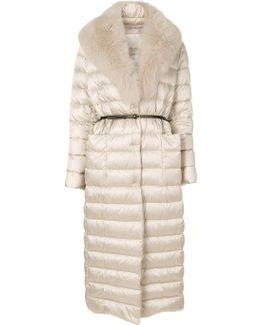 Fur Trim Coat