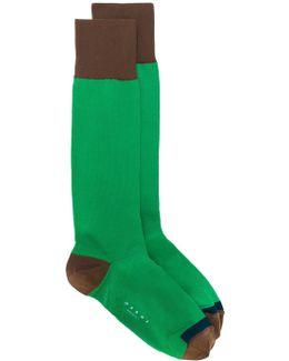 Tricolour Socks