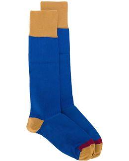 Colour Block Socks