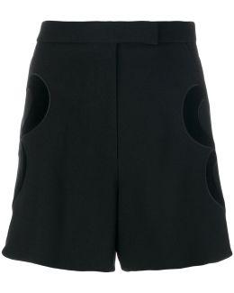 Heart Appliqué Shorts