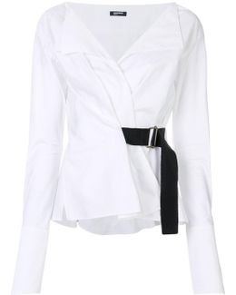 Belted Blouse
