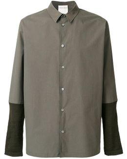 Contrast Sleeve Shirt