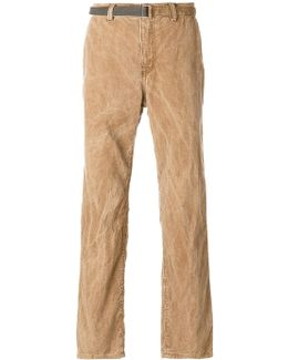 Crinkle Washed Trousers