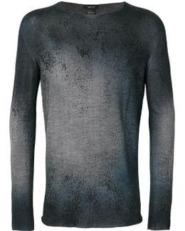 Splatter Effect Pullover