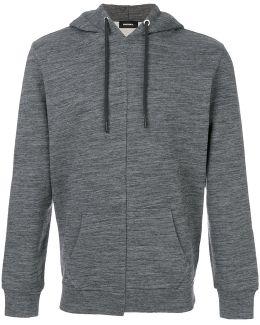 Fitted Hooded Sweatshirt