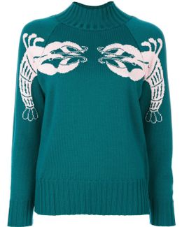 Tunisi Lobster Turtleneck Sweater