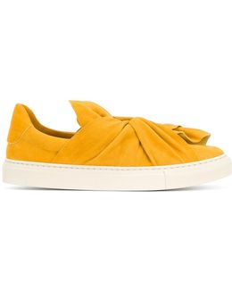 Ruffle Bow Sneakers