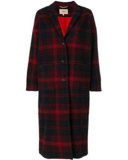 Tartan Check Coat