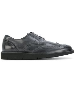 Chunky Sole Distressed Brogues