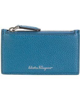 Two-tone Zipped Cardholder