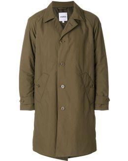 Straight Single-breasted Coat