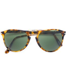 Fold Up Tortoiseshell Sunglasses