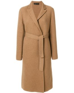 Tailored Belted Coat