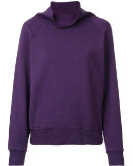 Cowl Neck Sweatshirt
