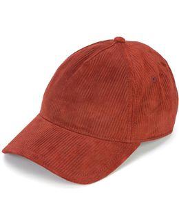 Ribbed Baseball Cap
