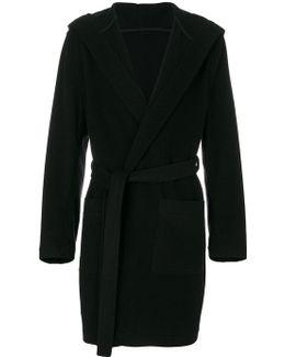 Hooded Robe Coat