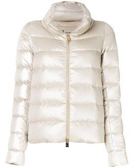 Zip Up Collar Puffer Jacket