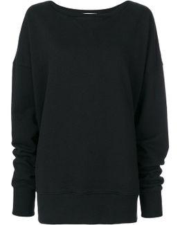 Oversized Printed Sweater