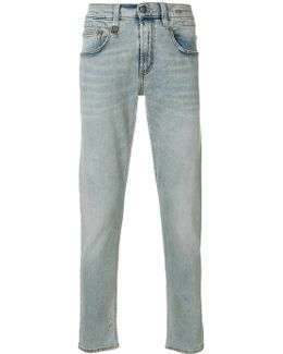 Five Pockets Tapered Jeans