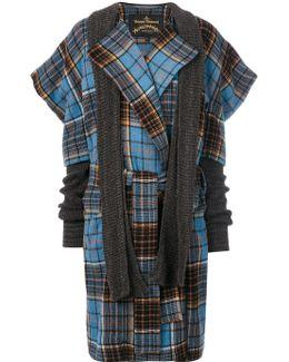 'dionysian' Tartan Coat