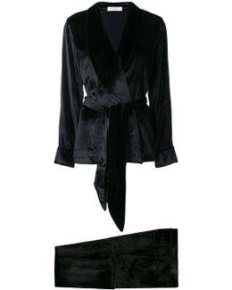 Tie-waist Pyjama Set